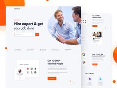 Market - Recruitment Marketplace Landing Page designed by Fusion Lab. Connect with them on Dribbble; the global community for designers and creative professionals. Company Job, Wordpress Theme Design, Landing Page Design, Job Posting, Web Layout, Portfolio Website, Site Design, Web Design Inspiration, Show And Tell