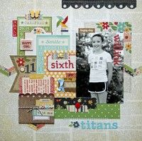 A Project by Lisa Swift from our Scrapbooking Gallery originally submitted 08/03/12 at 07:13 AM