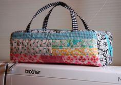 Mini Bag by RhubarbPatch,mini tutorial