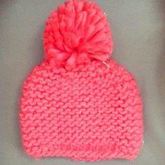 Cute pink + gold pom pom beanie from @anthropologie
