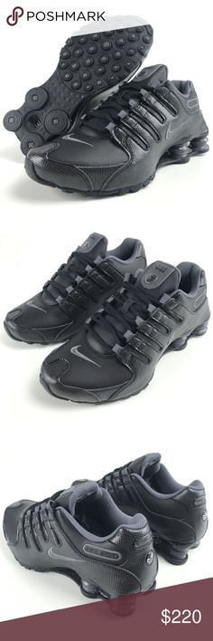 c15021ef84f Nike Shox Women s 8.5 Training Shoes Grey Black Womens Nike Shox NZ Black  Grey Size 8.5