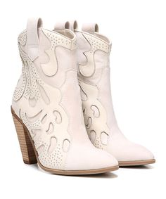 Winterwhite Sterling Leather Boot Oh, Carlos, some of your fan's can't wear heels this high-- don't forget about us!