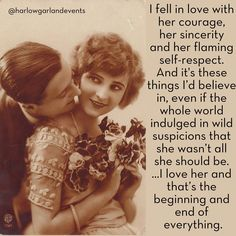"Today's #Truelovethursdays post (where we share a classic movie or literary  quote each Thursday to get your hearts all aflutter), is brought to you by  F. Scott Fitzgerald via the Matthew J. and Arlyn Bruccoli Collection of F.  Scott Fitzgerald.  In a letter to a mutual friend of his and Zelda's (his infamously wild**  wife), he defends Zelda's character and describes the facets of her  personality he has fallen wildly in love with.  The letter:  *""No personality as strong as Zelda's could…"