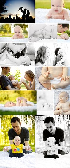 family session with 3 month old baby Life In Motion Photography