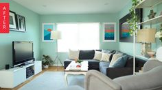 Milestone Makeovers: Kathy's Asthma-Friendly Home Office — Natura® Zero-VOC* and Zero Emissions** Paint by Benjamin Moore®