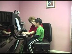 Piano Lessons. Singing fingers