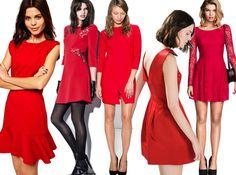 Christmas in Red: un vestito rosso per Natale 2014