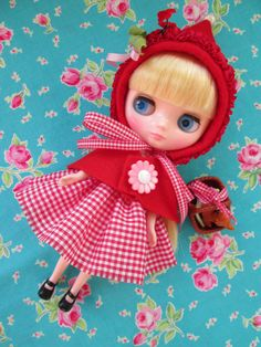 Middie Blythe...Little Red Riding Hood.. by KittyKatDance on Etsy