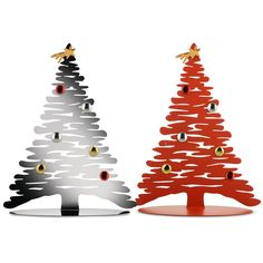 Alessi Christmas Ornament, Bark for Christmas Tree with magnets
