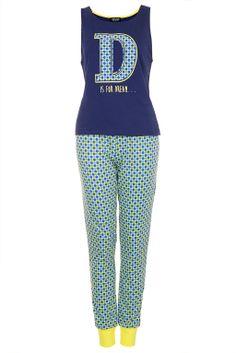 D Is For Dreaming PJ Set - Topshop