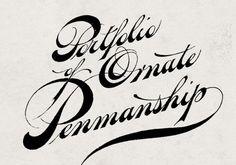 Ornate Penmanship