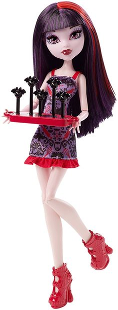 Monster High Ghoul Fair Elissabat Doll: Amazon.de: Spielzeug