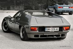 #Lotus Europa with convertible Esprit in the background