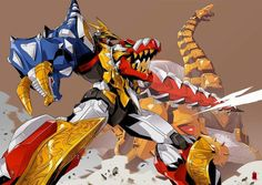 DeviantArt - Discover The Largest Online Art Gallery and Community Power Rangers Fan Art, Go Go Power Rangers, Kamen Rider, Transformers, Power Rangers Megazord, Power Rengers, Arte Robot, Gundam Art, Mighty Morphin Power Rangers