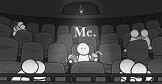 Asi m siento cuando voy sola al cine