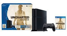 PlayStation 4 Console - Uncharted: The Nathan Drake Collection Bundle - Go Shop Video Games Playstation 4 Uncharted, Newest Playstation, Playstation 4 Console, Uncharted Nathan Drake Collection, Ps4 Games For Kids, Most Popular Games, Along The Way, Video Game Console, Sony