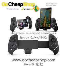 'Advantages of #Bluetooth #telescopiccontroller'  This item is another remote Bluetooth controller which bolsters distinctive android/IOS/PC diversions. The upsides of item it can be utilized when associated with the Bluetooth cell phone and with no drivers, with adaptive stand. cell phone or tablet can be set in the section (greatest support for 6-inch cell phone), bluetooth 3.0 remote transmission can bolster 6-8 meters extensive variety of control from the operation, easy to understand…