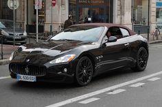 Maserati GranCabrio on Flickr. Maserati GranCabrio cet après-midi à Toulouse