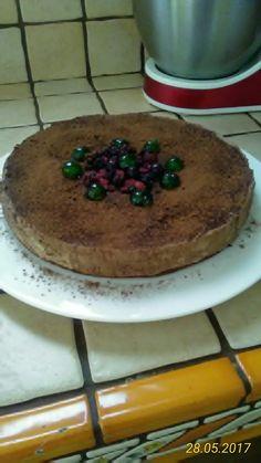 Torta di mousse al cioccolato