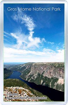 $3.29 - Acrylic Fridge Magnet: Canada. Newfoundland And Labrador. Gros Morne NP