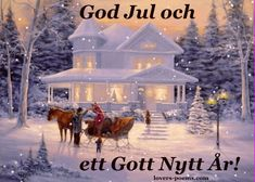 god jul och gott nytt år--Swedish--Merry (good) Christmas (yule) and a happy (good) new year