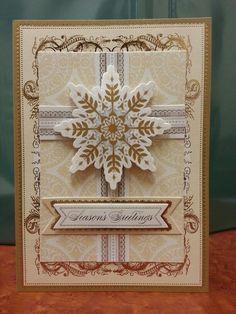 Card made with the Anna Griffin Kit on HSN...Sandra Frutchey