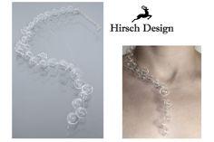 Glasperlen Kette von Hirsch-Design auf DaWanda.com