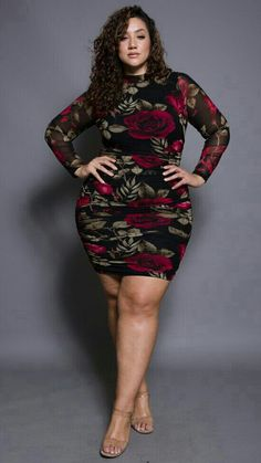 Plus Size Outfits – Lady Dress Designs Looks Plus Size, Look Plus, Plus Size Beauty, Plus Size Fashion For Women, Curvy Women Fashion, Look Fashion, Dress Fashion, Fashion Boots, Fashion Ideas