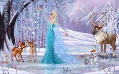 Disney Artwork, Disney Drawings, Elsa Mermaid, Nick Wilde, I Love Snow, Treasure Planet, Judy Hopps, Sea Dragon, Best Boyfriend