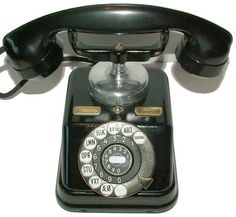 1930s Bakelite Telephone, by Fabrik Automatic, Copenhagen