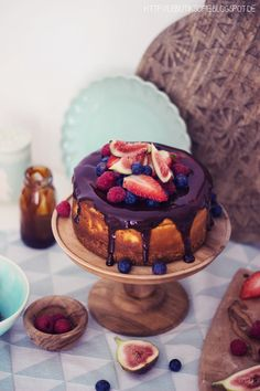New York Cheesecake with dark caramel topping