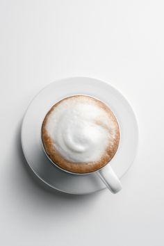 A Foamy Morning Coffee to go please