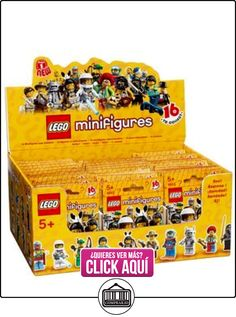 LEGO Minifigure Collection Series 1 Mystery Bag Box 60 Packs by Display Box with 60 sealed packets  ✿ Lego - el surtido más amplio ✿ ▬► Ver oferta: https://comprar.io/goto/B01C6NA51W