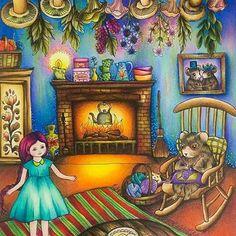 Fofinho! #Repost @alebavaresco with @repostapp  Esse demorei pra terminar, poxa!   Livro: Vivi Söker En Vän by @maria_trolle   @casadaloise #prismacolor #alebavascolouring #blomstermandala #mariatrolle #vivisökerenvän #artterapy #mencoloring #coloringbook