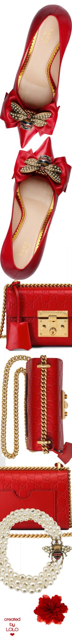 Shop the Gucci Official Website. Browse the latest collections, explore the campaigns and discover our online assortment of clothing and accessories. Fancy Shoes, Pretty Shoes, Gucci Baby, Red Handbag, Gucci Accessories, Black White Red, Classy And Fabulous, Luxury Shoes, Lady In Red