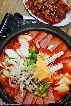 Budae Jjigae Korean military stew