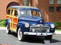 1942 Ford Super Deluxe Station Wagon..Re-pin brought to you by #OregonInsuranceagents at #houseofinsurance in #EugeneOregon