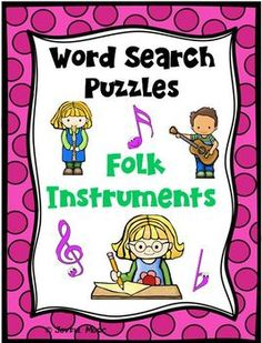 ***FREE***Kids love puzzles! Word Search puzzles are a great way to improve spelling while having fun. They help to expand students' vocabulary.Word Search puzzles are great for sub plans, morning work, centers, games, extra work for those who finish assignments early, and homework as added incenti...