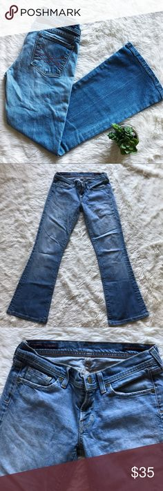 """Citizens of Humanity Jeans Great condition CoH Jeans. Super stylish and in a beautiful light wash. Pair with wedges. Style is Naomi #065 low waist flare. 28.5"""" inseam and  7.75"""" Rise. Bundle and save! 💕👖 Citizens Of Humanity Jeans Flare & Wide Leg"""