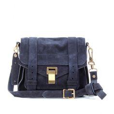 Ps1 Pouch Suede Shoulder Bag ► Proenza Schouler ¦ mytheresa.com