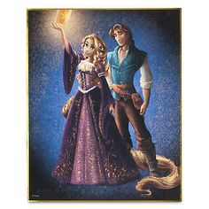 Disney Fairytale Designer Collection LE Lithograph | Posters & Prints | Tangled