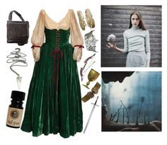 """""""♕I may be a maiden, but I'm much more than you think Sir♕"""" by kaninekiller ❤ liked on Polyvore featuring Ropin West and Prada"""