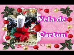 Velas Navideñas con Tubos de Papel :Aprende cómo crear un maravilloso arreglo de velas de Navidad usando tubos de cartón. Christmas Decorations For The Home, Quilling, Christmas Crafts, Navidad Ideas, Table Decorations, Diy, Home Decor, Cushions, Handmade Crafts