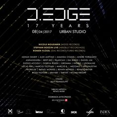 RA: D-Edge 17th Anniversary at D-EDGE, Brazil