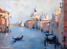 Grand Canal by Trisha Adams Oil ~ 18 x 24
