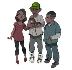 """radiopappa: """" """" Anonymous asked radiopappa: Could you do something with franklin and lamar? Like maybe something after the """"Lamar down"""" mission? """" can i draw kids """" Franklin Gta 5, Gta 5 Funny, Grand Theft Auto Series, Gamer 4 Life, Fallout New Vegas, Fallout 3, Crime, Hip Hop Art, Rockstar Games"""