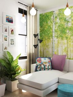 Push Your Style: Steal These Striking Design Element Ideas- A full-wall photo mural is a way to make a huge impact in a space.