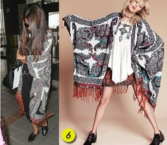 Free People scarf poncho ..... DIY MAKE THIS FROM A WIDE SARONG .... just sew the ends