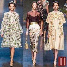 Dolce&Gabbana Spring 2014 Collection | Tom & Lorenzo