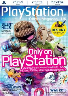 Official #PlayStation Magazine 102. Uncharted 4: A Thief's End! Rime! Until Dawn! Tearaway Unfolded! Bloodborne! Discover 30 amazing exclusives coming only to PlayStation and much more!